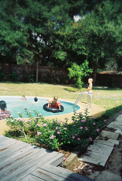 BX Pool Party at Jalon's house. Possibly June 1993.