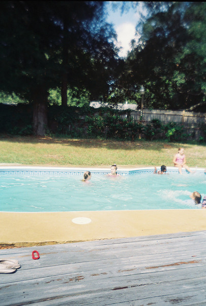BW Pool Party at Jalon's house. Possibly June 1993.