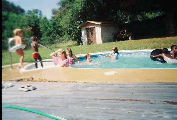 BS Pool Party at Jalon's house. Possibly June 1993.