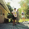 BQ Pool Party at Jalon's house. Possibly June 1993.
