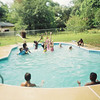 BZ Pool Party at Jalon's house. Possibly June 1993.