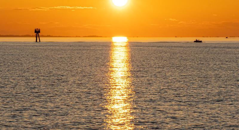 Sunset at Semiahmoo