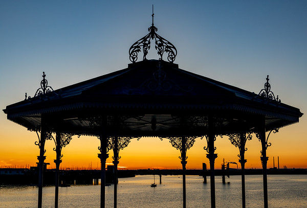 Bandstand Sunset