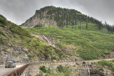 Going to the Sun Road, Glacier National Park, Montana, USA