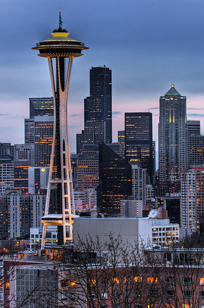 Space-Needle-HDR