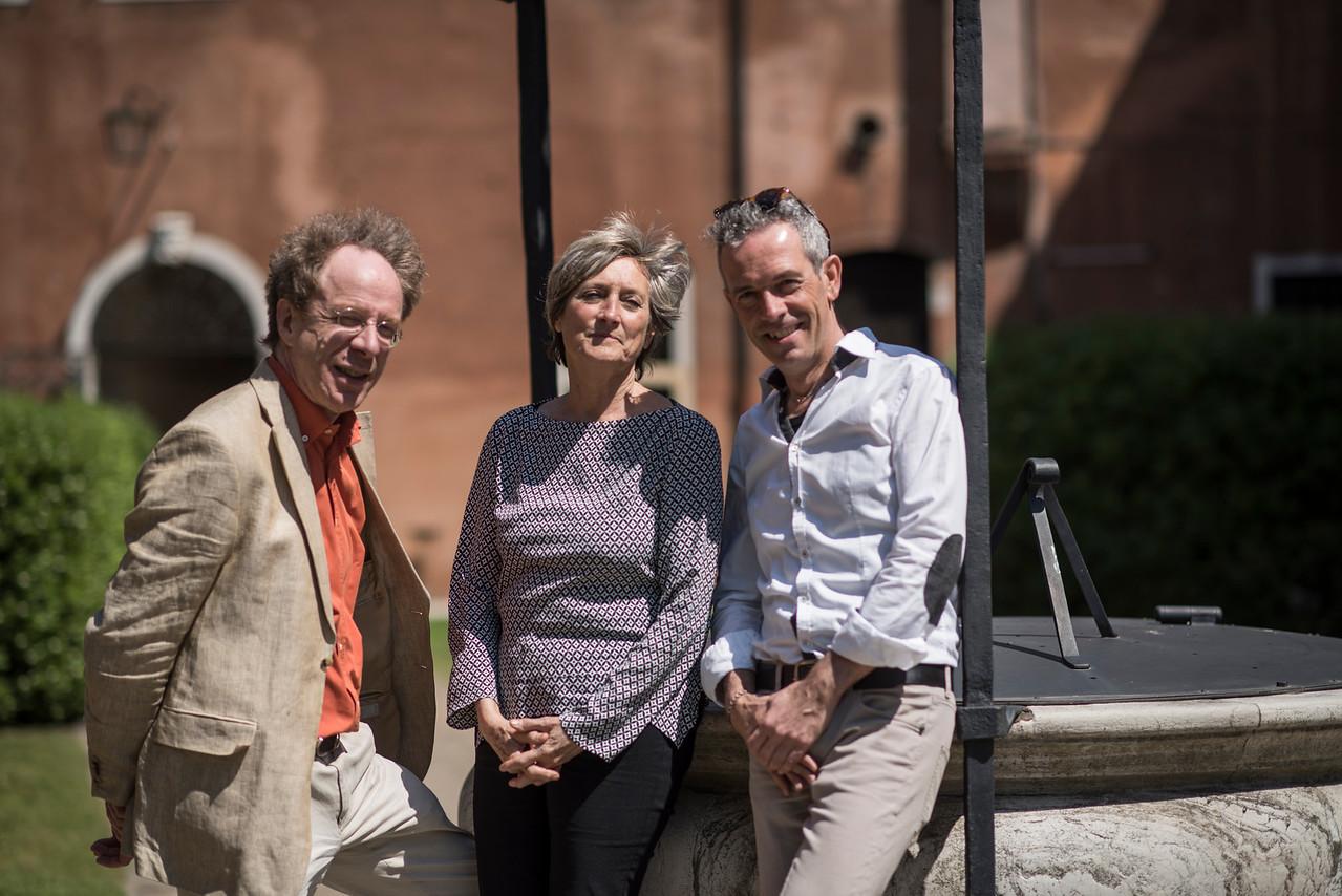 Alfredo Bernardini, Chiara Banchini and Claudio Astronio