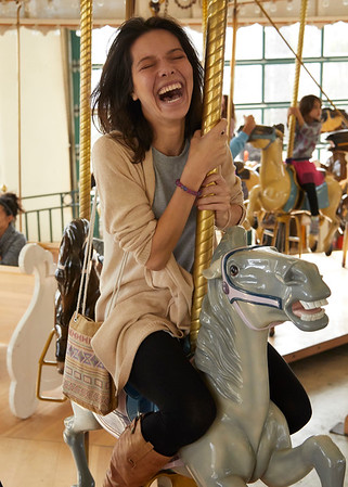 Our final visit to the Allan Herschel Carousel ♥