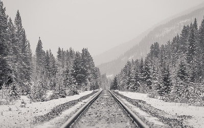 Winter On Rails