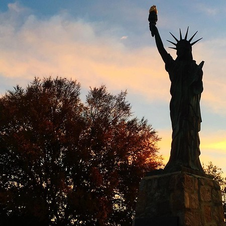 Lady Liberty- Chimborazo Park, Richmond, VA