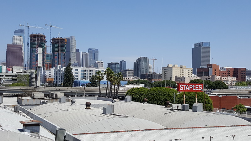 View from Downtown L.A Motors