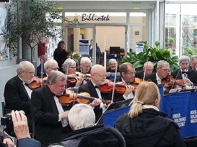 Underholdningsorkestret Classic Ballroom i Farum kulturhus.