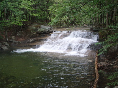 Before we headed out we took a look at the swimming hole that is perfect for cooling off in the summer.