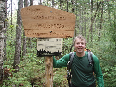 We were responsible to maintain the section of trail after this logging area that begins at the wilderness boundary sign.