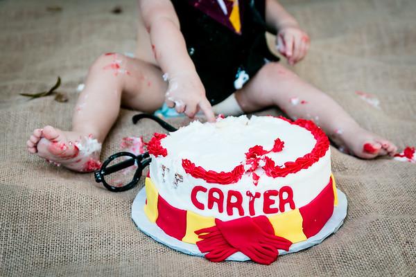 {Carter's Smash Cake}