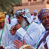 Today's smiling faces travel photo is of three ecstatic performers at the Muscat Festival in Oman. The festival is a celebration of Omani culture & heritage.