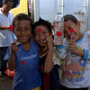 "<a href=""http://smilingfacestravelphotos.com"">http://smilingfacestravelphotos.com</a> : Cute Indonesian kids from Bintung showing off their newly acquired Canadian flags and pencils with a healthy does of smiles and grins."