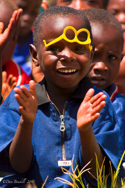 While cycling through Africa Dave & Deb stopped at a Plan Canada project in Malawi to help volunteer when they spotted this cute boy with a gorgeous smile.
