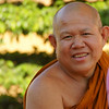 "<a href=""http://smilingfacestravelphotos.com"">http://smilingfacestravelphotos.com</a> : Daily smiling faces travel photo of a smiling Buddhist monk flashing an authentic from the capital city of Vientiane, Laos."