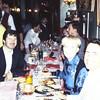 Having dinner with Roy Johannessen
