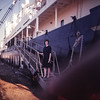 Mary at the gangplank
