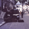 Coal deliveryman at work-Chartres, France