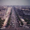 The Champs Elysees seen from the Arch of Triumh