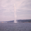 Water spout in Lake Geneva