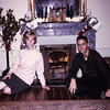 Mary & Louis-Christmas morning, 1964-Chateau La Gatinaliere