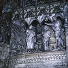 Carvings in apse Chartres