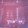 Tourists at the Baptistry Doors-Florence (dark)