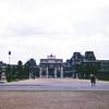 Arch ot the Carrousel Tuileries Gardens-Paris
