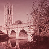 Magdalen Tower and Bridge, Oxford, two of the city's best-known landmarks