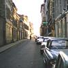 Typical narrow street in La R.