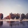 Fountain-Tuileries Gardens-Paris October, 1964