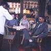 """Playing """"typical American tourist"""" at the Cafe de la Paix-Paris"""