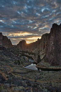 Sunset at Smith Rock State Park