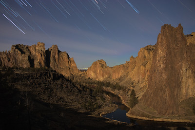 Smith Rock Star Trails