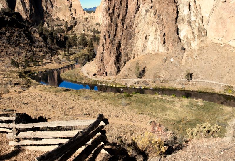 Smith Rock Canyon, 2015