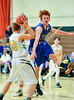 Boys Varsity Basketball, Smith Valley vs. Mineral County at Mineral County High School.