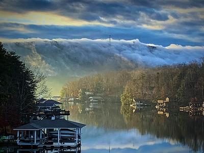 SML Foggy Mountain Sunrise