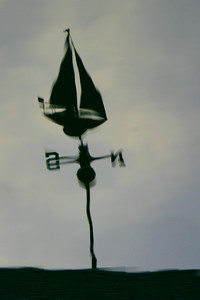 Wind on the water and the vane