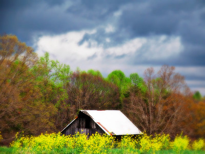 """""""Barn Storm"""" Smith Mtn. Lake ,with some miid editing effects."""