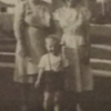 Grandma Mulholland, your mom and me (age 3 or 4)