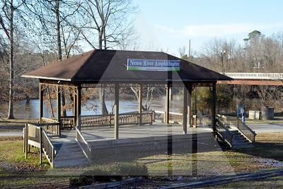 Neuse River Amphitheatre Steven Sausage Pavilion, Downtown Smithfield, NC, 3-8-2015