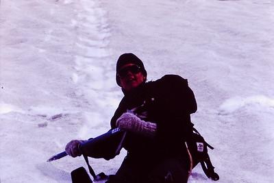 Wendy Glissading Bolam Glacier