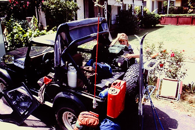 Packing the Jeep