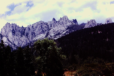 Castle Crags near Shasta