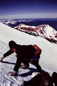 Wendy Climbing Bolam Glacier