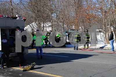 Smithtown MVA w/person trapped Rte 347 1-24-2011