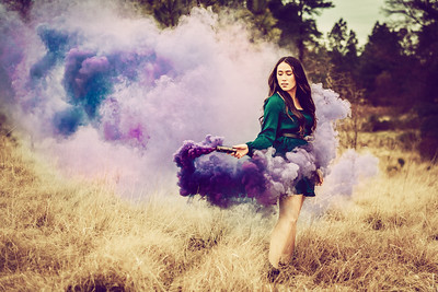 alyssa smokebomb